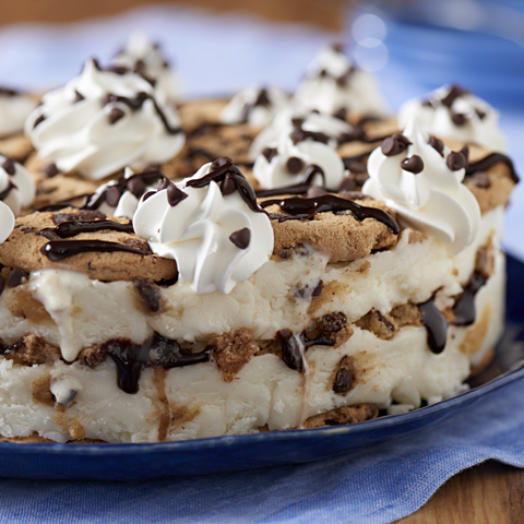 "CHIPS AHOY!-Wich Ice Cream ""Cake"" Recipe"