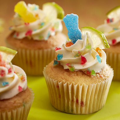 SOUR PATCH KIDS Fiesta Fun Cupcakes Recipe