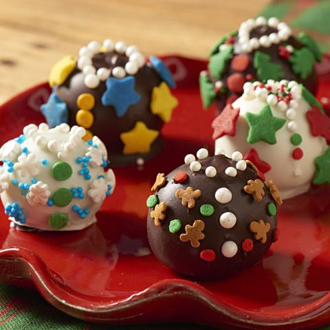 Boules de biscuits OREO «chandails laids de Noël»  recette