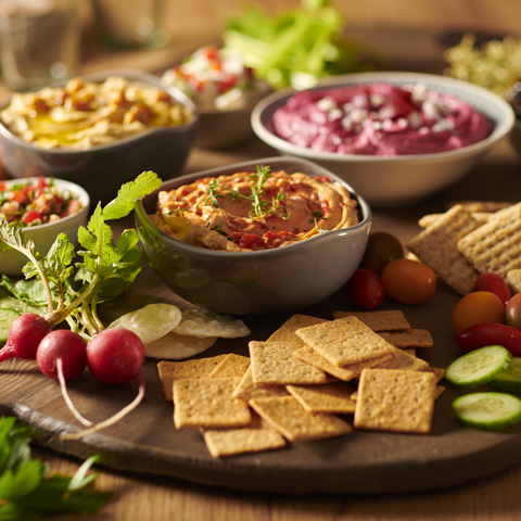 Hummus Party Platter Recipe