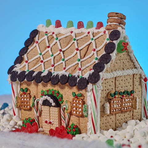 HONEY MAID Holiday House Recipe