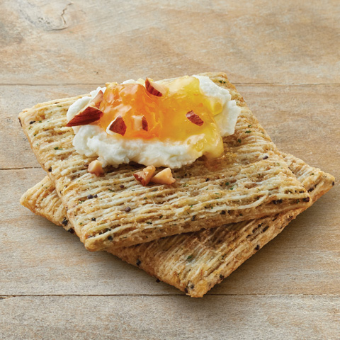 Almond, Goat Cheese & Jam TRISCUIT Topper Recipe