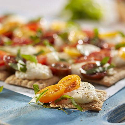 "Heirloom Tomato & Ricotta ""Tart"" Recipe"
