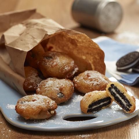 "OREO Filled ""Doughnuts"" Recipe"