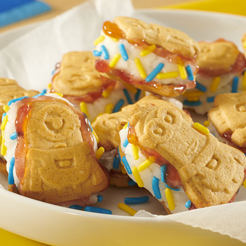 Minions Cookies Ice Cream Sandwiches Recipe