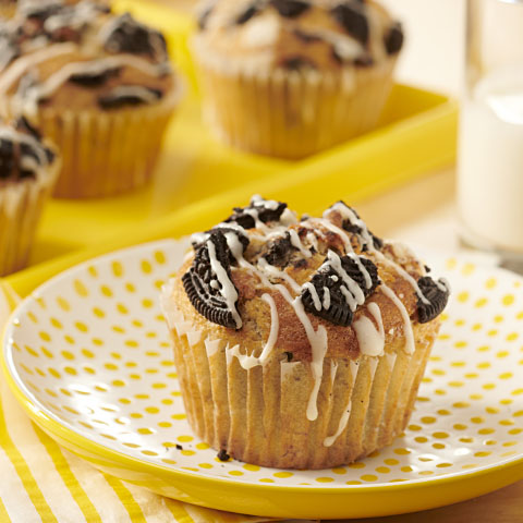"OREO ""Streusel"" Banana Muffins  Recipe"