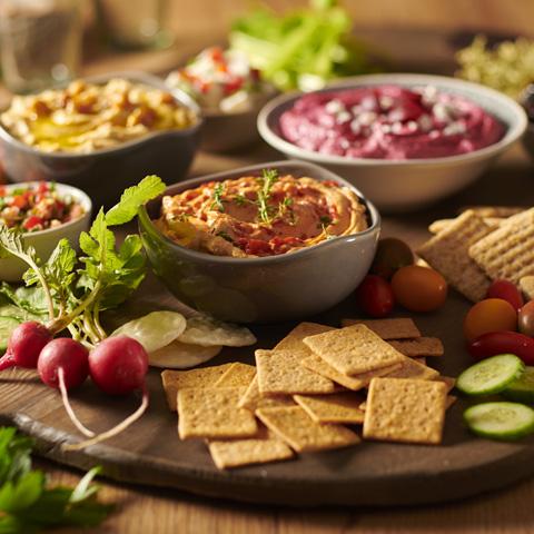Hummus Party Platter Recipe