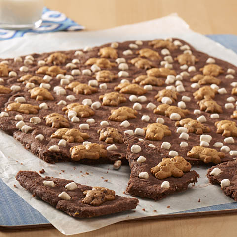 TEDDY GRAHAMS S'mores Brownie Crisps Recipe