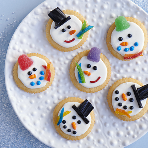 RITZ-Y Snowmen Recipe