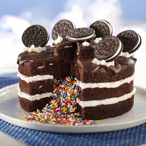 OREO Surprise Cake Recipe
