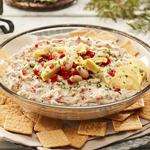 White Bean & Artichoke Dip Recipe