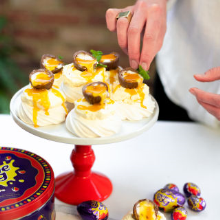 creme egg easter nests