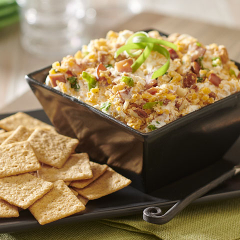 Smoky Cheddar-Bacon Spread Recipe