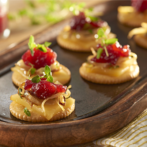 RITZ Smoked Gouda Toppers Recipe