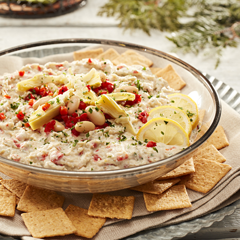 WHEAT THINS White Bean & Artichoke Dip Recipe