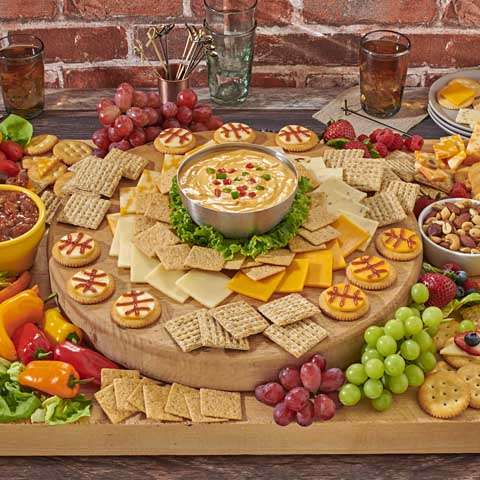 Courtside Cheese and Dip Board Recipe