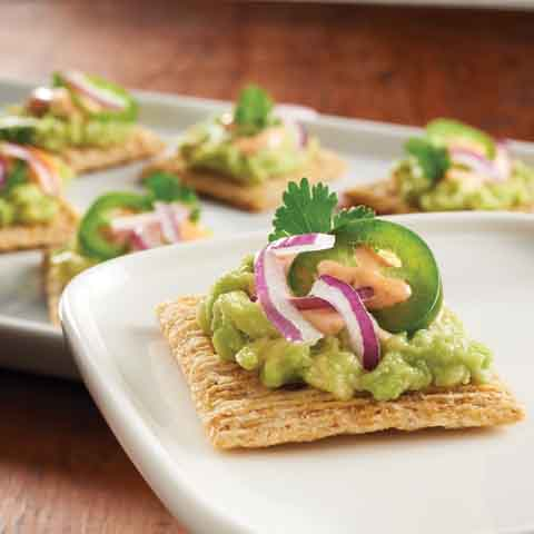 Guacamole TRISCUIT Topper Recipe