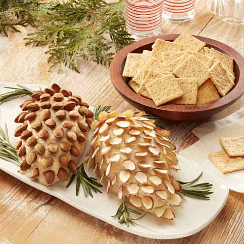 WHEAT THINS Gruyere Pinecone Spread Recipe