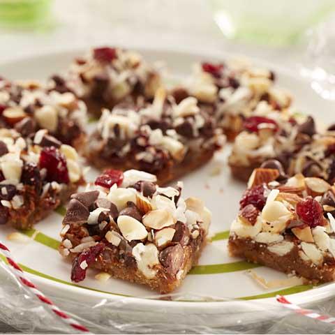 Barres P'TITE ABEILLE au dulce de Leche et aux canneberges  Recipe