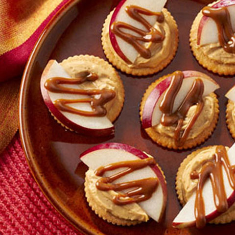 Sweet & Salty Dulce de Leche RITZ Toppers Recipe