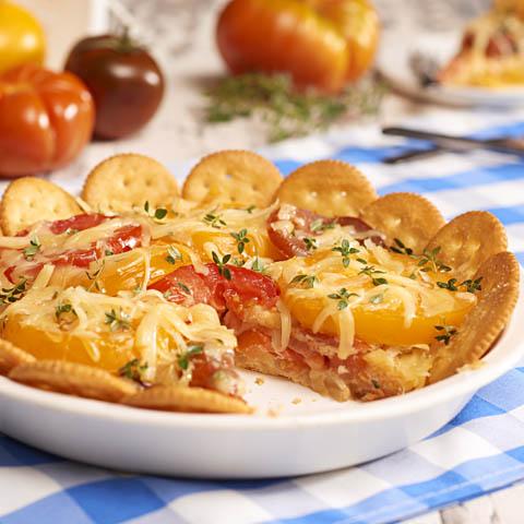 RITZ Heirloom Tomato Pie Recipe