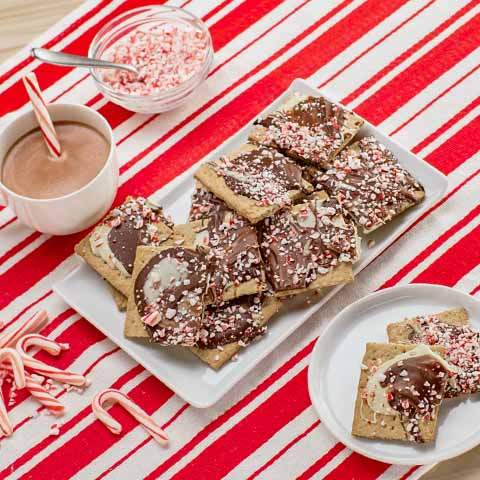 Peppermint Crunch Bark Recipe