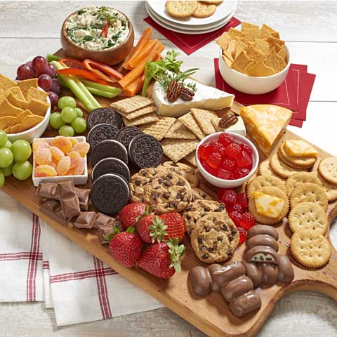 Sweet & Salty Snacking Board Recipe