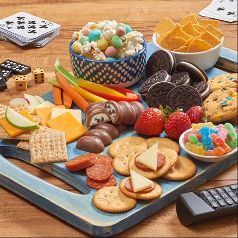 Family Game Night Snacking Board Recipe
