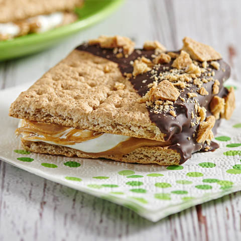 Back-to-School Peanut Butter S'mores Recipe