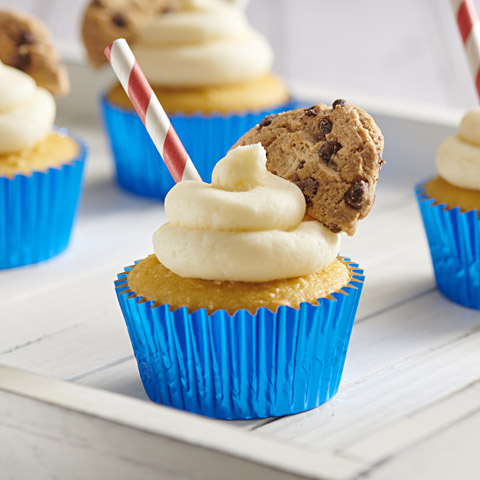 CHIPS AHOY! Milk 'n Cookies Cupcakes