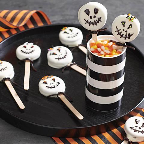 OREO Halloween Skull Pops Recipe