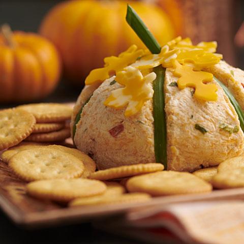 Pretty Pumpkin Cheese Ball Recipe