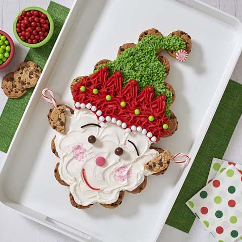 CHIPS AHOY! Elf Pull-Apart Cupcakes Recipe