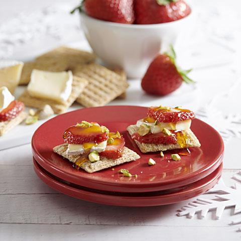 TRISCUIT Strawberry Bites Recipe
