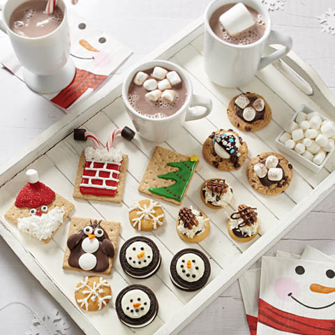 Holiday Hot Cocoa and Cookie Board Recipe