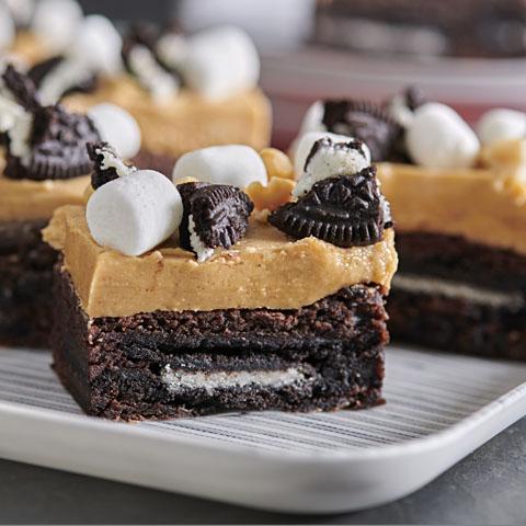 Brownies Rocky Road OREO recette