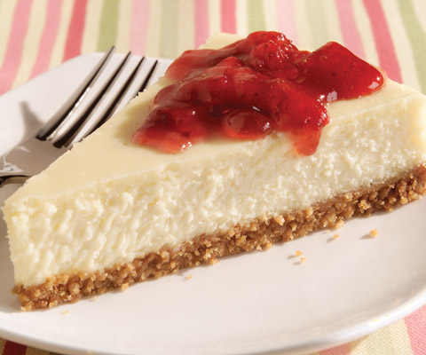 Strawberry Preserve-Topped Cheesecake Recipe
