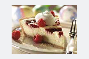 Easy Raspberry Swirl Cheesecake Recipe
