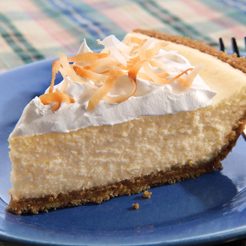 Easy Coconut Cheesecake Recipe