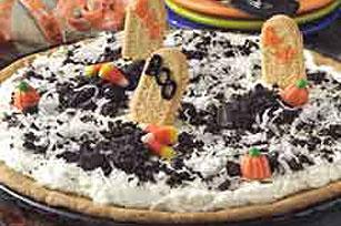 Spooky Graveyard Dessert Pizza Recipe
