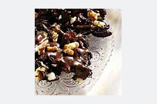 OREO Walnut 'n Raisin Bark Recipe