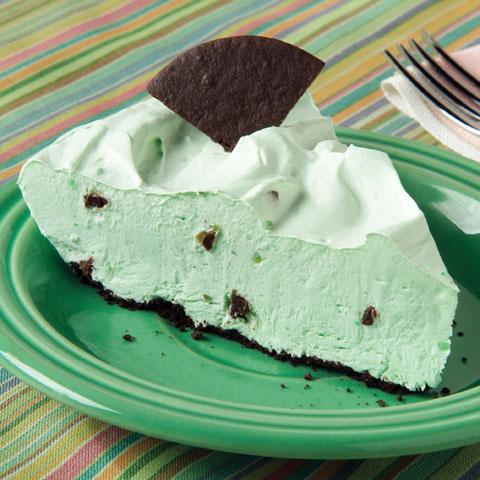 Grasshopper Pudding Pie Recipe