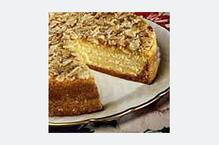 Almond-Crunch Pumpkin Cheesecake Recipe