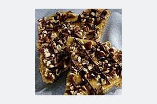 Graham-Pecan Toffee Recipe