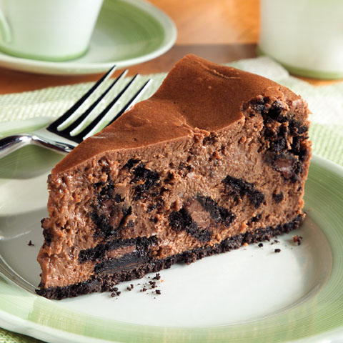 OREO Chocolate Cream Cheesecake Recipe