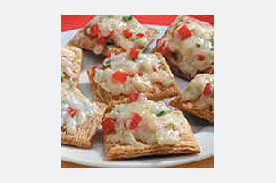 Toasted 2-Cheese Confetti Crackers Recipe