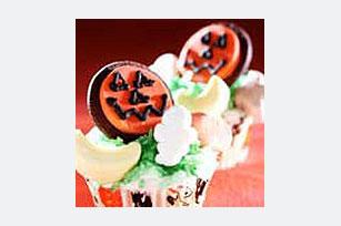 Spooky Pumpkin Cupcakes Recipe