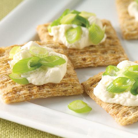 Cream Cheese 'n Green Onion Topping Recipe