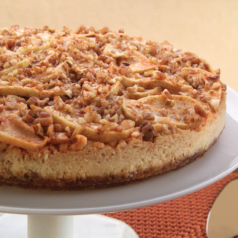 Scrumptious Apple-Pecan Cheesecake Recipe
