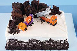 Construction Birthday Cake Recipe